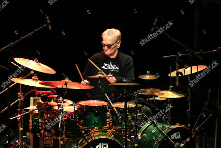 Ginger Baker playing the Drum Legends show