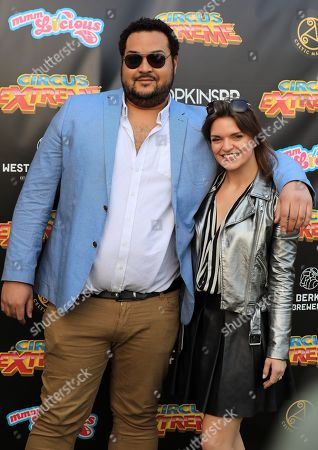 Stock Image of Heavy D and guest