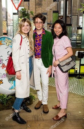 Matilda Goad, Luke Edward Hall and Haeni Kim