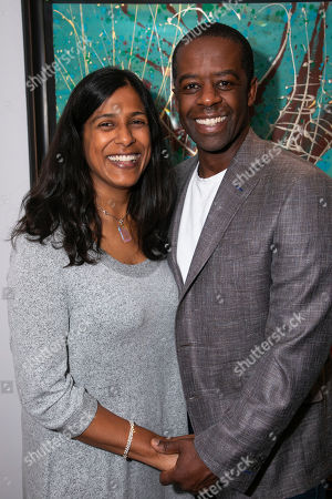 Stock Image of Lolita Chakrabarti and Adrian Lester (Daddy Brubeck)