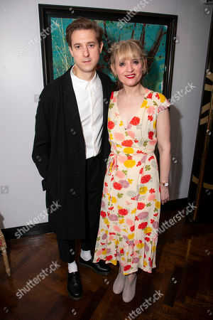 Arthur Darvill (Oscar Lindquist) and Anne-Marie Duff (Charity Hope Valentine)