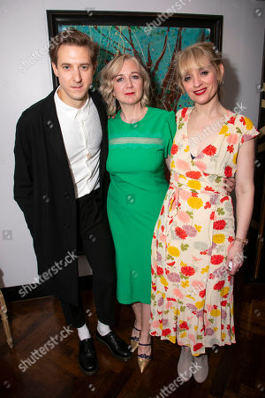 Arthur Darvill (Oscar Lindquist), Josie Rourke (Director) and Anne-Marie Duff (Charity Hope Valentine)