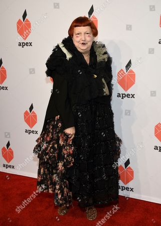 Fashion editor Lynn Yaeger attends the Apex for Youth 27th annual Inspiration Awards gala at Cipriani Wall Street, in New York