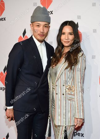 Dao-Yi Chow, Olivia Munn. Fashion designer Dao-Yi Chow, left, and actress Olivia Munn pose together at the Apex for Youth 27th annual Inspiration Awards gala at Cipriani Wall Street, in New York