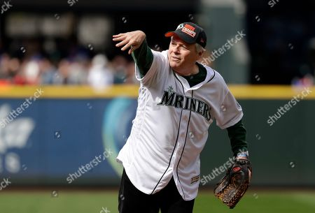 Editorial image of Indians Mariners Baseball, Seattle, USA - 17 Apr 2019