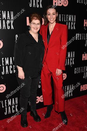 Stock Image of Sally Wainwright and Suranne Jones
