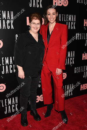 Editorial picture of 'Gentleman Jack' TV show premiere, Metrograph, New York, USA - 17 Apr 2019