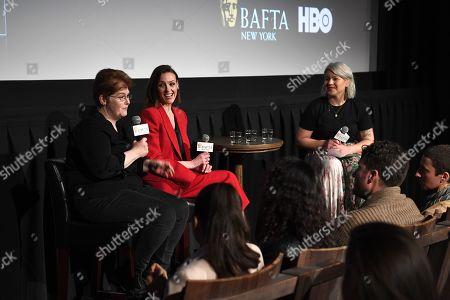 Sally Wainwright, Suranne Jones and Julie Kosin