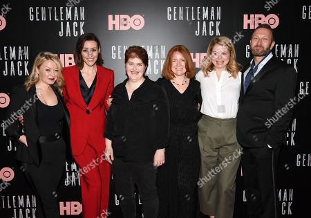 Kathleen McCaffrey, Suranne Jones, Sally Wainwright, Faith Penhale, Laura Lankester and Phil Collinson