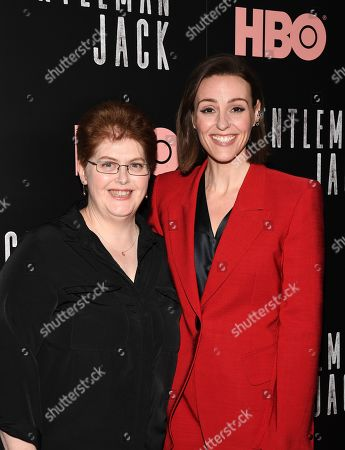 Stock Picture of Sally Wainwright, Suranne Jones