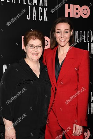 Stock Image of Sally Wainwright and Suranne Jones