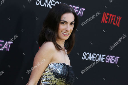 Editorial photo of 'Someone Great' film premiere, Arrivals, ArcLight Cinemas, Los Angeles, USA - 17 Apr 2019
