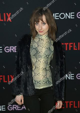 """Allisyn Ashley Arm arrives at a special screening of """"Someone Great"""", at ArcLight Hollywood in Los Angeles"""