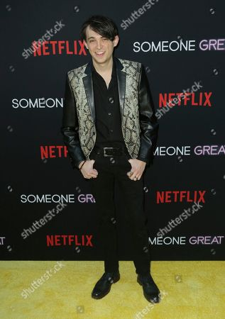 """Dylan Riley Snyder arrives at a special screening of """"Someone Great"""", at ArcLight Hollywood in Los Angeles"""