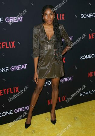 """Editorial image of LA Special Screening of """"Someone Great"""", Los Angeles, USA - 17 Apr 2019"""