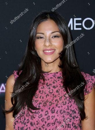 "Tracy Perez arrives at a special screening of ""Someone Great"", at ArcLight Hollywood in Los Angeles"