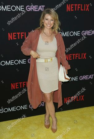 "Sugar Lyn Beard arrives at a special screening of ""Someone Great"", at ArcLight Hollywood in Los Angeles"