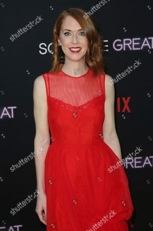 """Jessie Henderson arrives at a special screening of """"Someone Great"""", at ArcLight Hollywood in Los Angeles"""