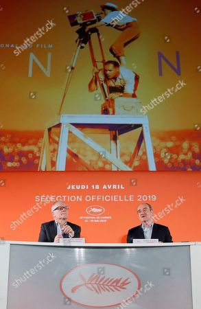 Editorial image of Cannes 2019 Presentation, Paris, France - 18 Apr 2019