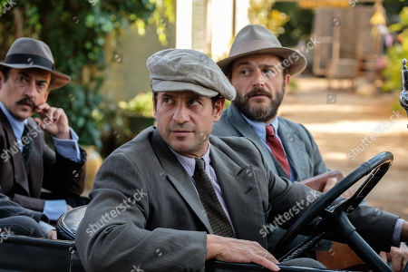 Alexis Georgoulis as Spiro and Yorgos Karamihos as Theo.