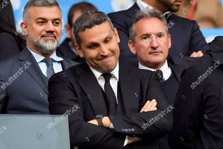 Manchester City chairman Khaldoon Al Mubarak and director of football Txiqui Beguiristain