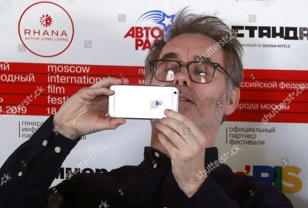Jean-Francois Richet attends a press conference prior the opening ceremony of the 41rd Moscow Film festival in Moscow, Russia, 18 April 2019. The festival runs from 18 to 25 April.