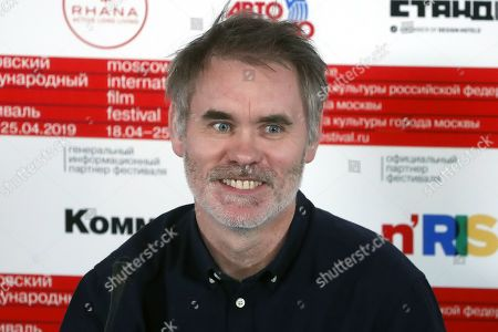 Stock Image of Jean-Francois Richet attends a press conference prior the opening ceremony of the 41rd Moscow Film festival in Moscow, Russia, 18 April 2019. The festival runs from 18 to 25 April.