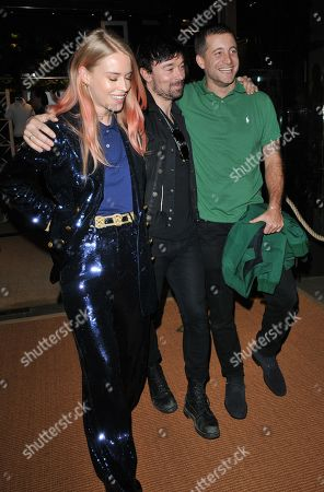 Mary Charteris, Robbie Furze and Tyrone Wood