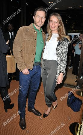 Stock Image of Paul Sculfor and Federica Amati