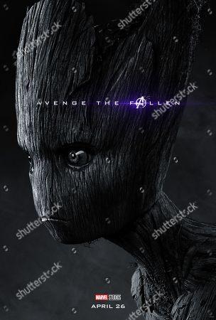 Avengers: Endgame (2019) Poster Art. Teen Groot (Terry Notary)