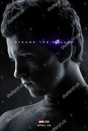 Avengers: Endgame (2019) Poster Art. Tom Holland as Peter Parker/Spider-Man