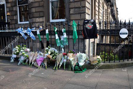 Editorial image of Bradley Welsh killed in Edinburgh shooting, UK - 18 Apr 2019