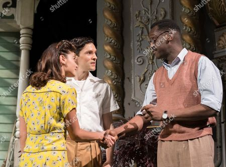 Editorial image of 'All My Sons' Play by Arthur Miller performed at the Old Vic Theatre, London, UK, 18 Apr 2019
