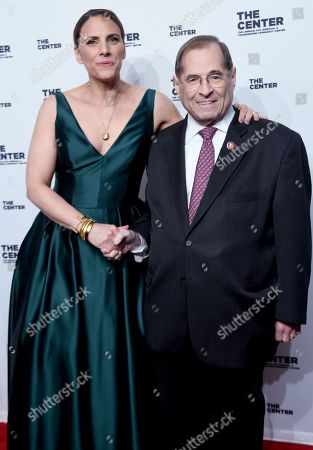 Glennda Testone and Jerrold Nadler