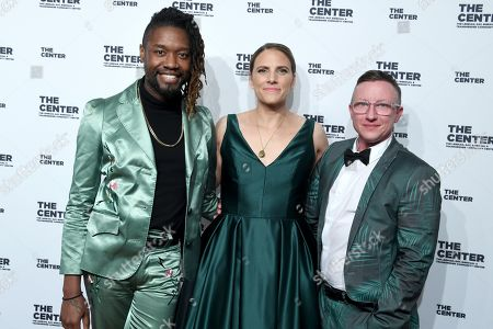 Editorial photo of 13th Annual LGBT Community Center Dinner, Arrivals, New York, USA - 18 Apr 2019