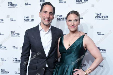 Mario Paulmbo and Glennda Testone