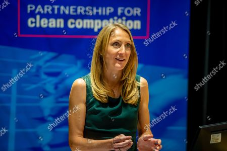 Editorial photo of Partnership for Clean Competition, London, UK - 18 Apr 2019