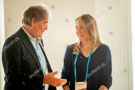 Paula Radcliffe speaks to David Holman, director of WADA