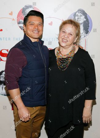 Stock Image of Vincent Rodriguez III and Amy Hill