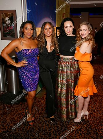 Bryonha Marie Parham, Tracie Thoms, Eden Espinosa and Audrey Cardwell