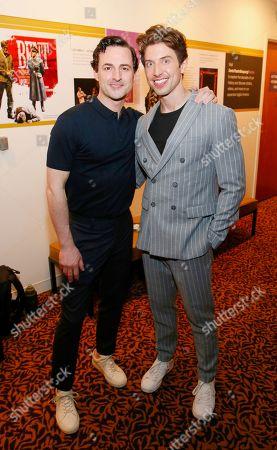 Stock Photo of Max von Essen and Nick Adams