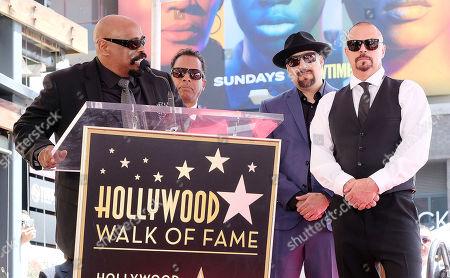 Cypress Hill - B-Real, DJ Muggs, Sen Dog, Eric 'Bobo' Correa