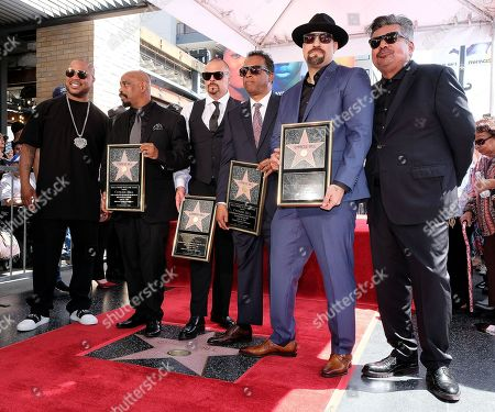 Xzibit, B-Real, DJ Muggs, Sen Dog, Eric Bobo and George Lopez