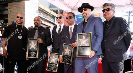 Editorial photo of Cypress Hill honored with a Star on the Hollywood Walk of Fame, Los Angeles, USA - 18 Apr 2019
