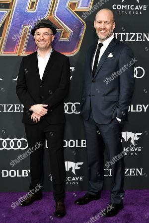 Editorial photo of 'Avengers: Endgame' Film Premiere, Arrivals, LA Convention Center, Los Angeles, USA - 22 Apr 2019