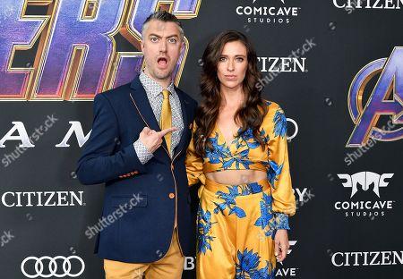 Sean Gunn and Natasha Halevi
