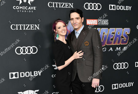 Stock Picture of Evelyn Leigh and David Dastmalchian