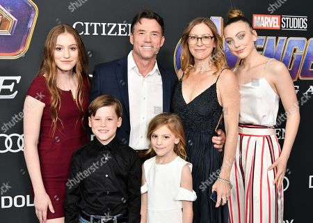 Stock Picture of Terry Notary and family