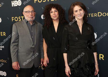 Mark Jonathan Harris, Sara Rodriguez and Deborah Oppenheimer