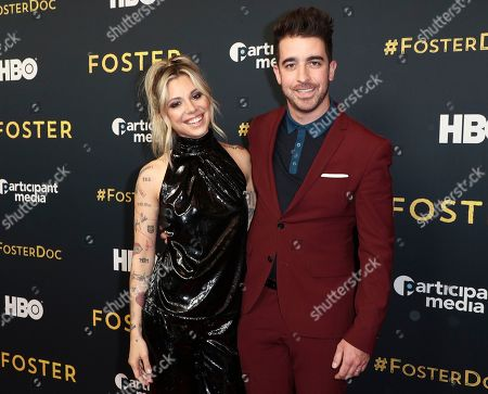 Christina Perri and Paul Costabile